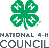 National 4-H Council logo - 4-H youth development programs.